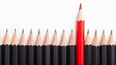 black and red pencils underneath walters people ireland cv writing tips